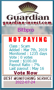 Monitored by guardian-invest.com